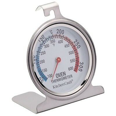 Oven Thermometer 50 To 300 C Kitchen Measure Craft Tool Stainless Steel