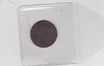 1694 William & Mary Farthing In Well Used Condition
