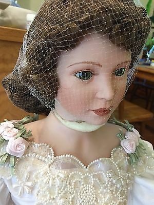 "Immaculate & Stunning Lady Josephine Huge 36""-39"" Porcelain Doll by Thelma Resch"