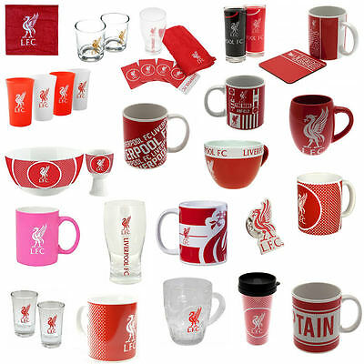 Liverpool FC Football Club Official Fan Gifts Mug Cups Coaster Glass Bowl Pint