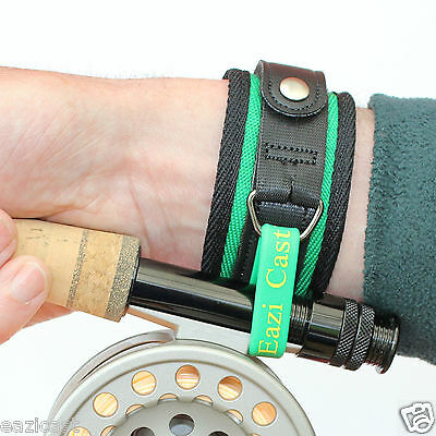 Fly Fishing Rod Wrist Support Casting Aid Lock Strap Brace Band Break Trout
