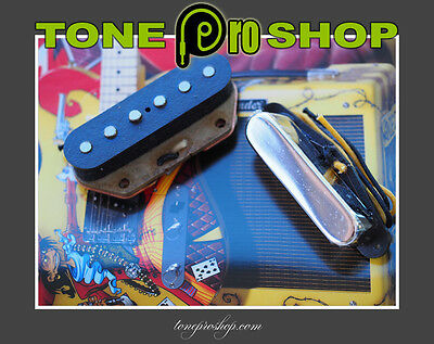 Tonerider Hot Classics Pickup set for Telecaster (Staggered Pole Pieces)
