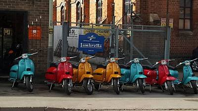 lambretta gp scooter