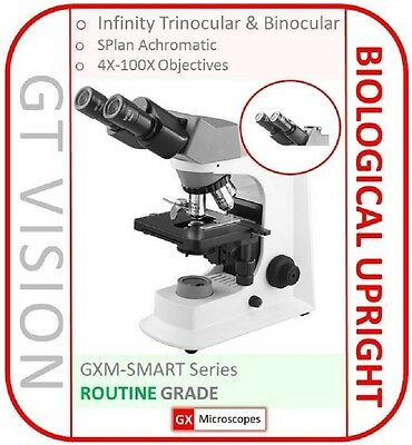 Biological Microscope 40X-1600X, LED, FN20 WF Eyepieces, UK STOCK & UK SUPPORT!