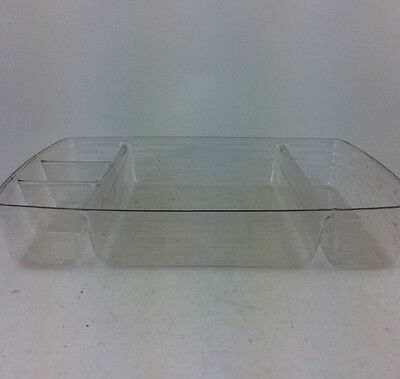 Longaberger Large Hostess Serving Tray Divided PROTECTOR ONLY