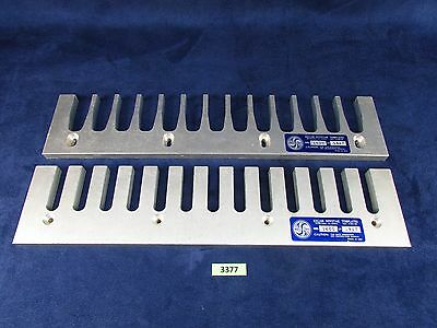 Keller 1600 Matched Dovetail Jig Router Template Set Made In USA (#3377)