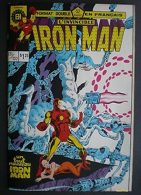 🍁 IRON MAN #131/132 Comic Book -  french version - editions HERITAGE