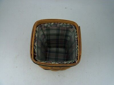 Longaberger PROTECTOR ONLY for Medium Spoon or Large Peg Basket Protector