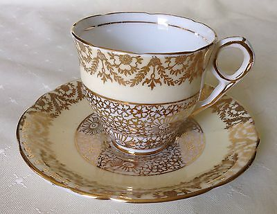 Royal Stafford - #8110X - Bone China - Cup & Saucer - Made In England