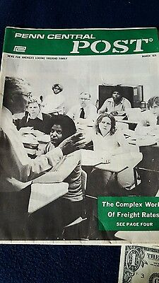 1976 Penn Central Post Employee News Paper (Final Issue)   *51
