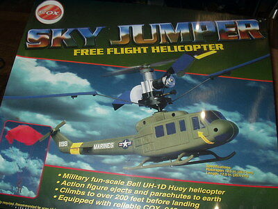 Cox Sky Jumper Free Flight Helicopter