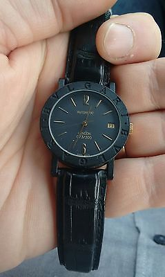 Bvlgari / Bulgari London Carbon Gold limited edition automatic watch London