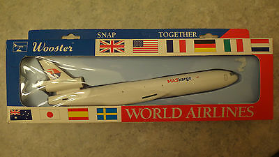 Wooster Snap Together MD-11 Virgin Atlantic Cargo Malaysia Airlines Maskargo NEW
