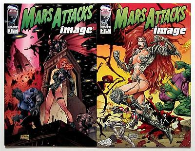 Mars Attacks Image 1-2 (2 Issues) No. #1 2 (Nm) Unread