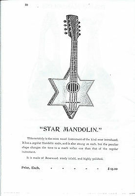 Late 1800'S C. Bruno And Son String Instrument Mandolin Catalog On Cd