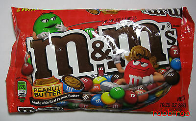 (1kg = 27,63 €) M&M´s PEANUT BUTTER im medium bag +++ 289,2 gr  +++