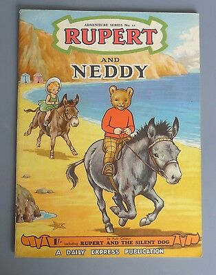 RUPERT AND NEDDY Adventure Series No. 12 - very good condition indeed