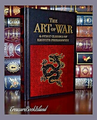 Art of War by Sun Tzu Tao Te Ching Mencius Brand New Leather Bound  2 Day Ship