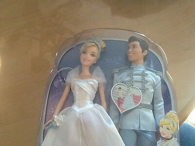Disney princess Cinderella  and Prince Charming doll fairy tale wedding