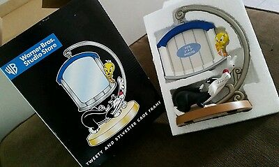 Warner Brothers Studio Store Tweety and Sylvester Cage Picture Frame