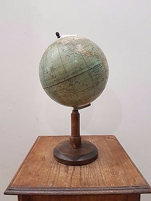 Old Antique Vintage Ww2 Wwii Germany Globe Universal Globus Prof. Dr Krause 1941