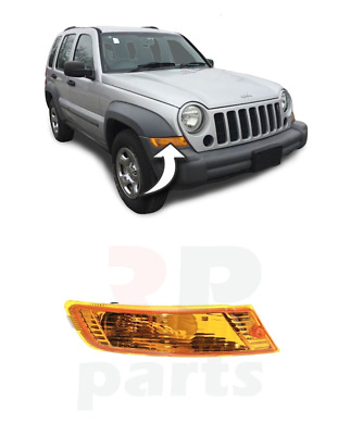 For Jeep Cherokee/Liberty Front Signal Indicator Lamp Lights Right O/S 2005-2007
