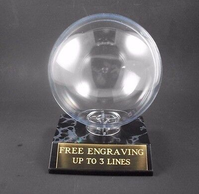 Custom Engraved Softball Holder, Display Case With Free Engraving