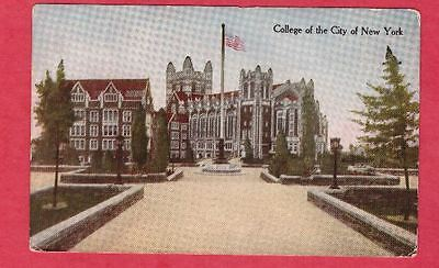 College of the City of New York postcard CCNY Amsterdam Ave & 138th sreets NY