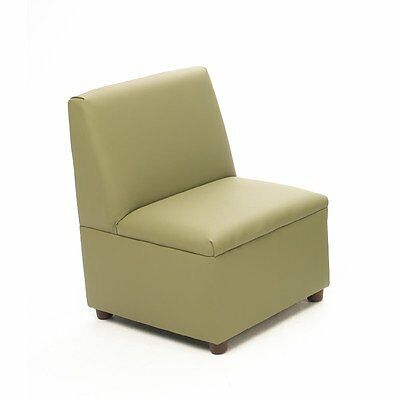 Brand New World Modern Casual Enviro-Child Upholstery Chair Sage, New