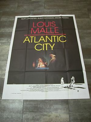 ATLANTIC CITY Burt Lancaster 1980 Affiche Originale 120x160 Movie Poster