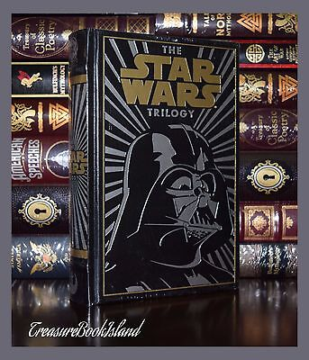 Star Wars Trilogy Brand  New Sealed Leather Bound Gift Collectible Edition HTF