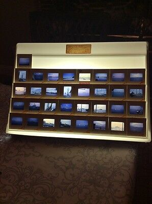 (THIRTY-THREE) 1965 35mm Original Slides - Foreign, Naval & Freighter Ships