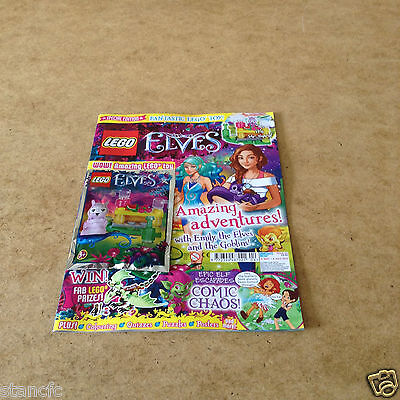 Lego Special Edition Elves Issue 5 May/july 2017 + Mr Spry's Juice Bar Toy Set
