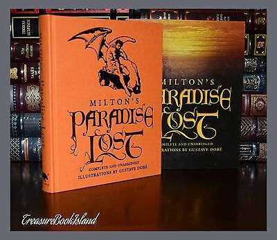 Paradise Lost John Milton Illustrated by Dore New Deluxe Hardcover in Slipcase
