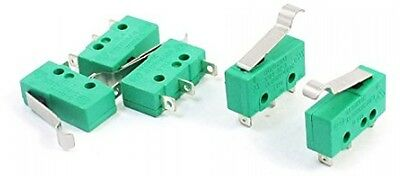 5pcs AC 125V 5A Hinge Lever Micro Limit Switch KW4-3Z-3 For Mill CNC