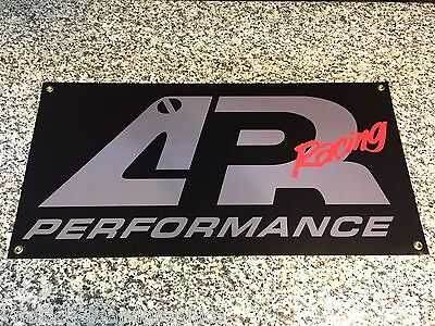 APR Performance Racing banner sign Drift Drifting wing bumper motorsports garage