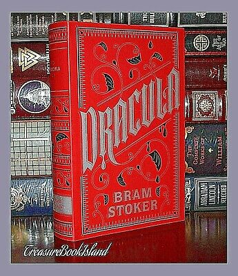 Dracula by Bram Stoker Horror New Leather Bound Collectible Edition Gift