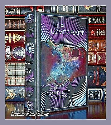 Complete Fiction of H.P. Lovecraft New Sealed Leather Bound Collectible Deluxe