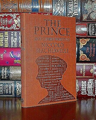 The Prince by Niccolo Machiavelli Unabridged Deluxe Soft Leather Feel Edition