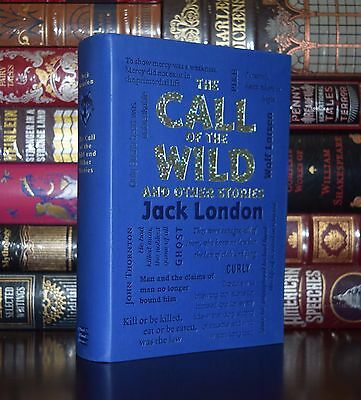 The Call of the Wild White Fang J. London Unabridged Deluxe Soft Leather Feel Ed