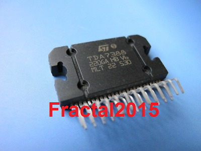 Tda7388 tda-7388  Audio Power Amplifier IC ST ZIP-25 TDA7388