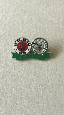 Celtic / St Pauli the Rebels choice brand new and mint condition badge