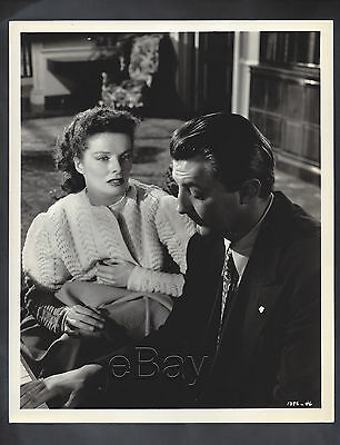 Original 1946 Katharine Hepburn UNDERCURRENT Robert Mitchum double-weight superb
