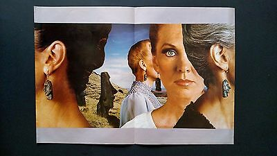 """Styx """"pieces Of Eight""""   Double Page Rare Original Print Promo Poster Ad"""