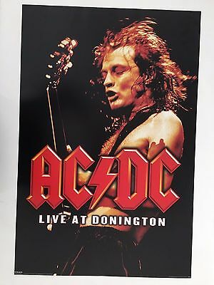 Ac/dc,live At Donington,rare Licensed 2004  Poster