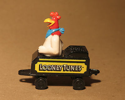 Looney Tunes ERTL 1989 Foghorn Leghorn Rooster on Train, diecast metal Train