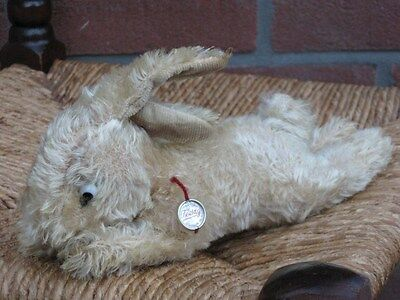 Hermann Germany Vintage Mohair Rabbit 23 CM With ID