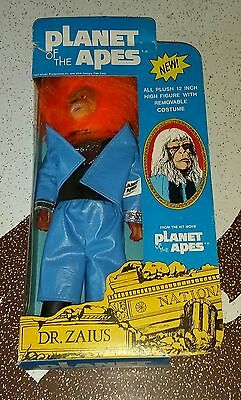 """Vintage 1974 Well Made Toys Boxed Dr Zaius Stuffed 12"""" Figure"""