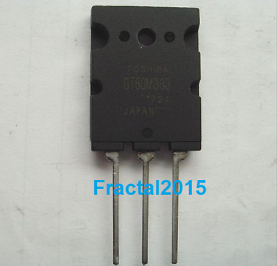 1pcs GT60M303 GT60M303 TO-3PL HIGH POWER SWITCHING APPLICATION