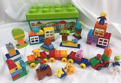 DUPLO Lego One Kilo In A Tub Inc Figures And Animals Mixed Bundle Joblot